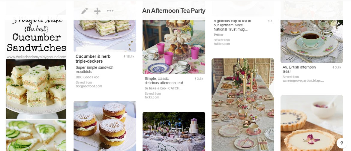 Pinterest tea party