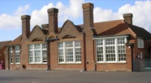 The main school building dates from 1917
